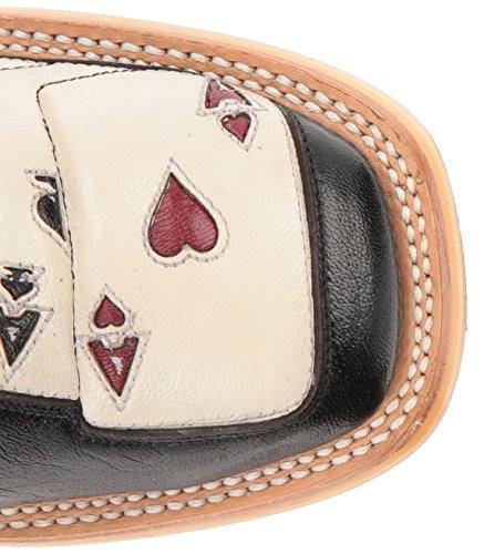 Tin Haul Zapatos Hombres 4 De Una Especie De Arranque De Trabajo Negro