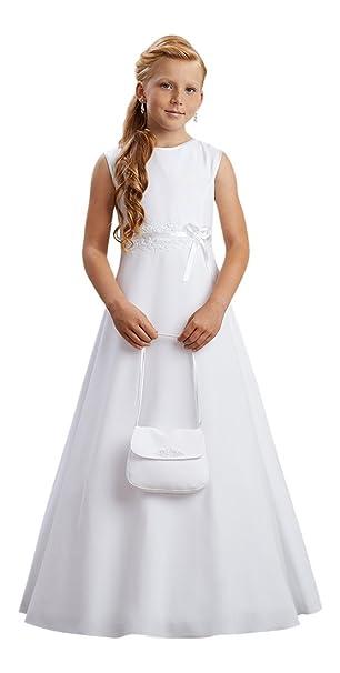 Lena Comunión vestido Comunión Comunión Weiß 152 cm: Amazon.es: Ropa y accesorios