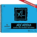 Canson XL Series Mix Paper Pad, Heavyweight, Fine