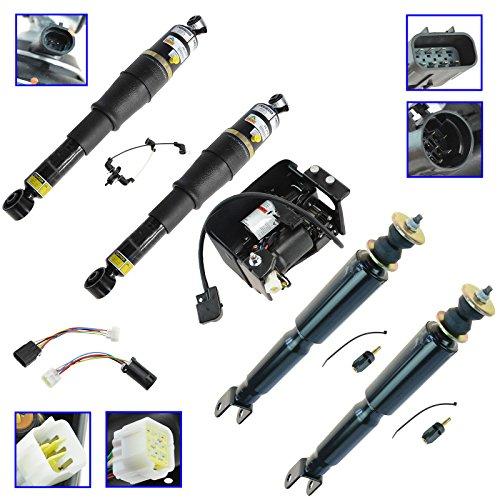 ARNOTT Complete Air Suspension Compressor & Shock Absorber Replacement Kit Set ()