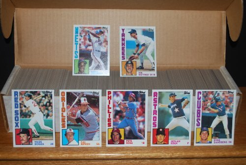 (1984 Topps Baseball Complete Set (Don Mattingly Rookie Card))