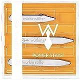Wurkin Stiffs Assorted Sizes Power Stays Magnetic Collar Stays