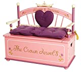 Princess Toy Box and Bench by Levels of Discovery