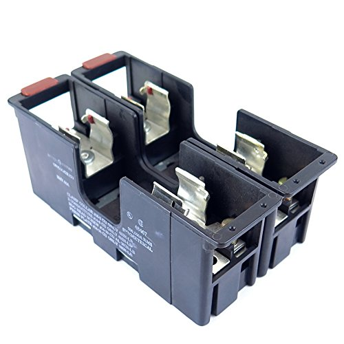 GENERAL ELECTRIC CR151KJC22CU Fuse Block 250V 60A 2P R Class RK1, RK5, H 250Volt 35-60AMP (Block Fuse 250v)