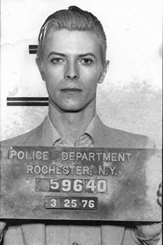 DAVID BOWIE POSTER Mug Shot RARE HOT NEW 24x36