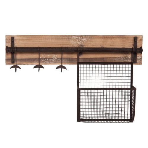 Southern Enterprises Dean Entryway Wall Mount Storage