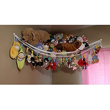 stuffed animal hammock toy chain huijukon jumbo toy hammock corner toy hammock toy chain stuffed animal hammock toy chain huijukon jumbo toy hammock      rh   amazon ca