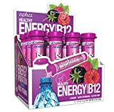 Zipfizz Healthy Energy Drink Mix, Berry, 12 Count