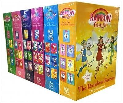 Rainbow Magic Series Collection 42 Books Set (Colour Fairies, Weather Fairies, Party Fairies, Jewel Fairies, Pet Keeper Fairies, Sporty Fairies)