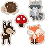 Big Dot of Happiness Woodland Creatures - DIY Shaped Baby Shower or Birthday Party Cut-