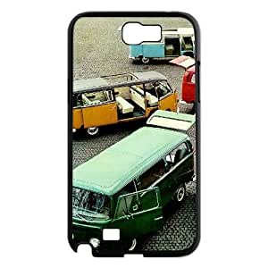 Hjqi - DIY VW Mini Bus Teal Phone Case, VW Mini Bus Teal Personalized Case for Samsung Galaxy Note 2 N7100