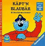 Käptn Blaubär Bildschirmschoner. CD- ROM für Windows 3.1/95. Moni-törn im Pixifischen Ozean