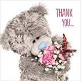 Me to You 3D Thank You So Much Greetings Card - Tatty Teddy Bear