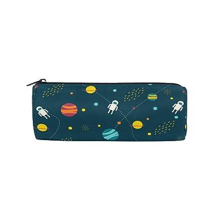 BONIPE - Estuche para lápices, diseño de planetas del ...