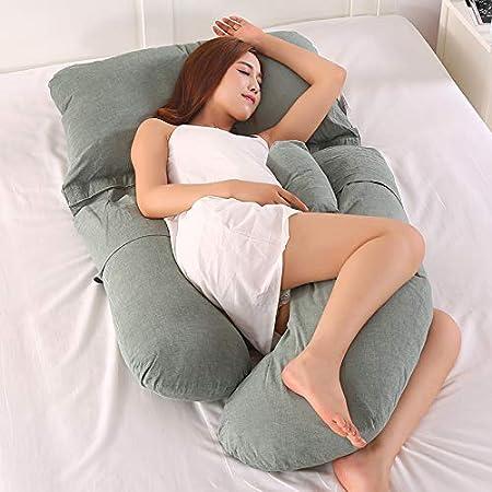 G Shape Pillow Pregnant Woman Side
