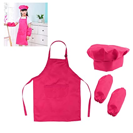 Amazon.com: Aprons for Kids Kitchen Kids Chef Set Gift ...
