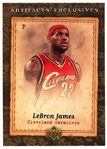 - LeBron James 2007-08 Upper Deck Artifacts #218 NM-MT Cavaliers Basketball NBA