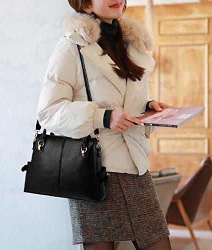 Bag Messenger Elegant Handbag Bag Black WenL Creative Female Shoulder xSYwOqp