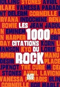 1000 citations du rock par Hervé Guilleminot