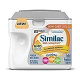 Similac Pro-Sensitive Infant Formula with 2'-FL Human Milk Oligosaccharide (HMO) for Immune Support, 22.5 ounces (Pack of 6)
