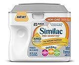 Similac Pro-Sensitive Infant Formula with 2'-FL Human Milk Oligosaccharide (HMO) for Immune Support, 22.5 ounces (Single Tub)
