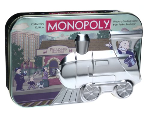 Collectors Embossed Tin (Monopoly Game Collector's Edition Embossed Tin)