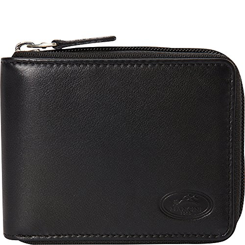 mancini-leather-goods-manchester-collection-mens-zippered-rfid-wallet-black
