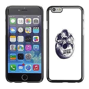 CASECO - Apple Iphone 6 Plus 5.5 - Abstract Friends - Delgado Negro Plástico caso cubierta Shell Armor Funda Case Cover - Resumen Amigos