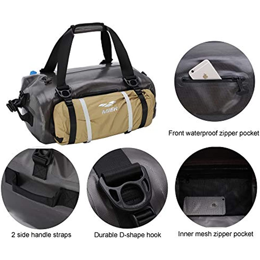 4497e0c9b87b Details about Dry Bags Waterproof Duffel Airtight For Kayaking, Boating,  Beach, Rafting, 90L,