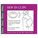 Braza Bust Enhancer Sew in Cups - Beige - Size A