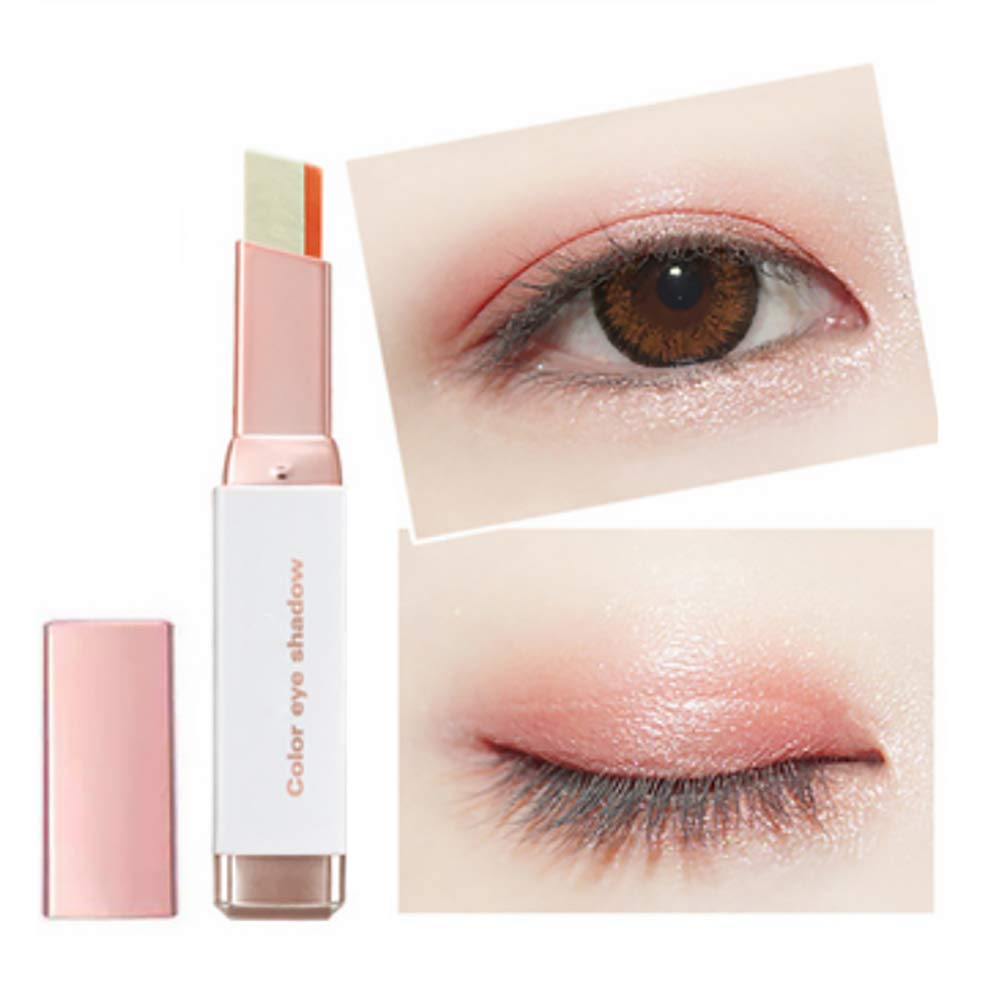 Silvercell Eye Shadow Stick Waterproof Double Colors Gradient Shimmer Eyeshadow Pen
