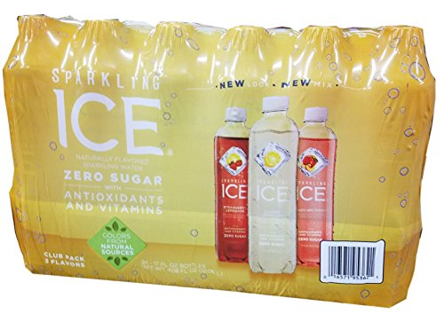 Sparkling Ice Zero Sugar Citrus Celebration Variety Pack, 17oz, 24 Count (Net WT 408 Fluid Ounce)