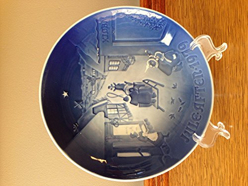 """Bing & Grondahl 1979 Jule After """"White Christmas"""" Plate for sale  Delivered anywhere in USA"""