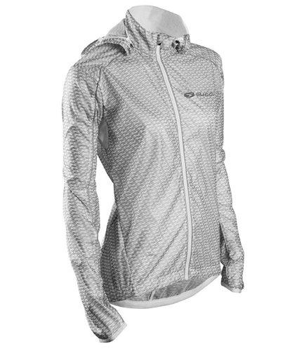 Sugoi Women's Hydrolite Cycling Jacket Medium White