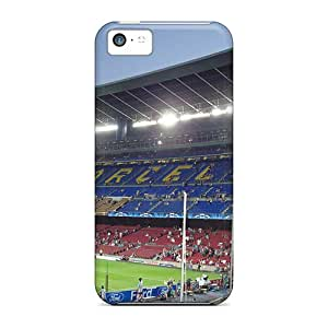 Brand New 5c Defender Case For Iphone (camp Nou)