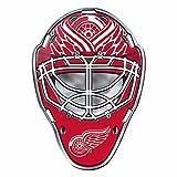NHL Detroit Red Wings Mask Emblem, Red