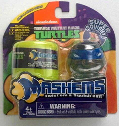 Teenage Mutant Ninja Turtles Leonardo (Blue) Mashems Series 2 (Ninja Turtle Blue)