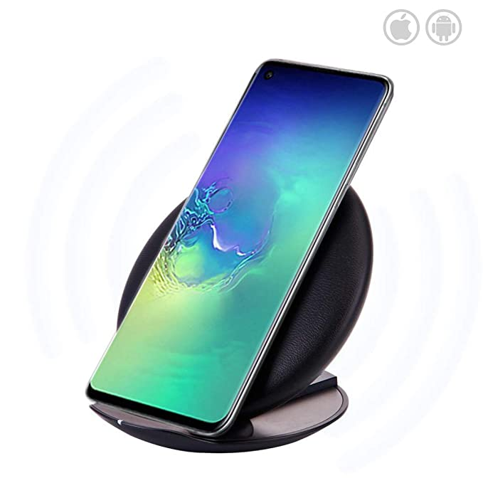 Amazon.com: Wireless Charger, QI Fast Wireless Charging Pad ...
