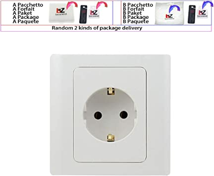 White European Power Plug Electrical Socket Accessories 16A 250V UK`