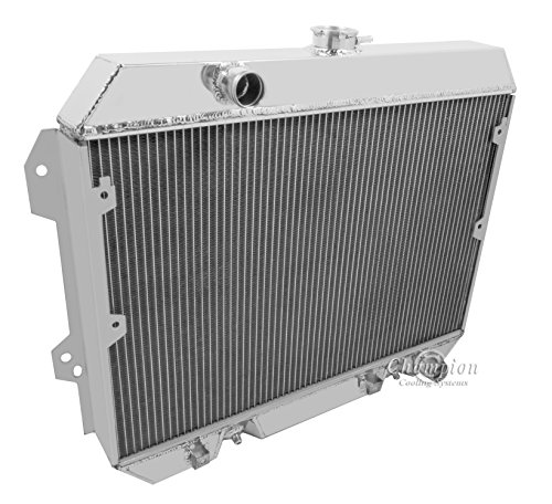 "2 Row Radiator, All Aluminum Replacement & 2-12"" Fans for 1975-1978 Nissan 280z. Engine application: 2.8 L6 - Radiator Manufactured by Champion Cooling Systems, Part Number: 634"