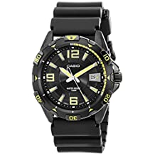 Casio MTD-1065B-1A2VEF Mens Black Dial Black Resin Strap Watch