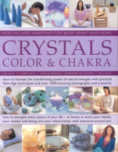 Read Online Crystals, Colour and Chakra pdf