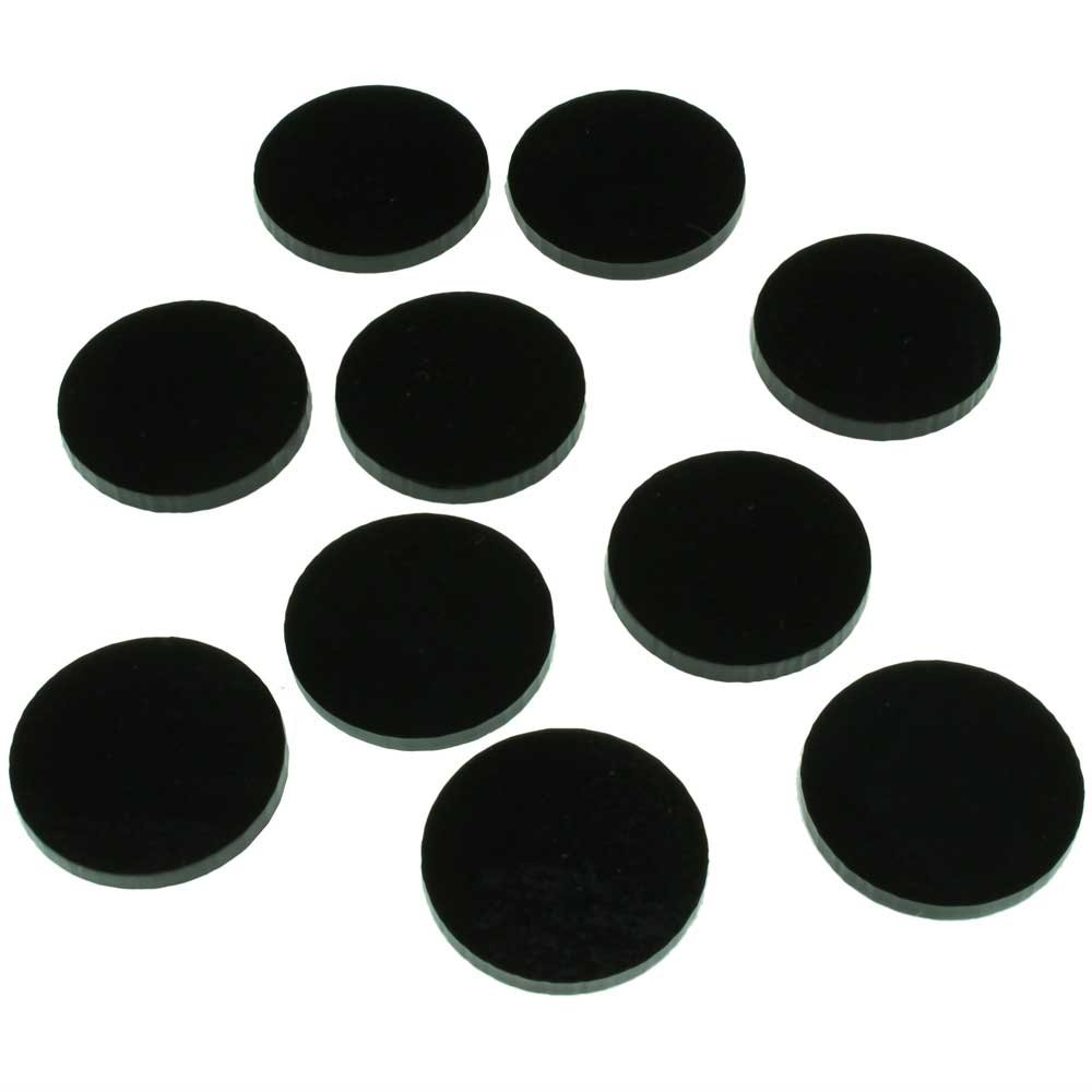 RPG Bases, 1 Inch Circular, Medium Figure Size (10)