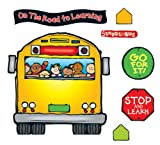 Carson Dellosa D.J. Inkers School Bus Bulletin Board Set (610040)