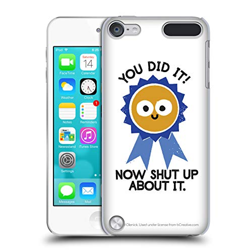 - Official David Olenick Boast Likely to Suceed Medal Objects Hard Back Case for Touch 5th Gen/Touch 6th Gen
