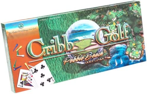 B00004T2Y6 Cribb Golf ~ Pebble Beach Golf Links ~ The Game of Cribbage & Golf 51YZ72ZQ6QL