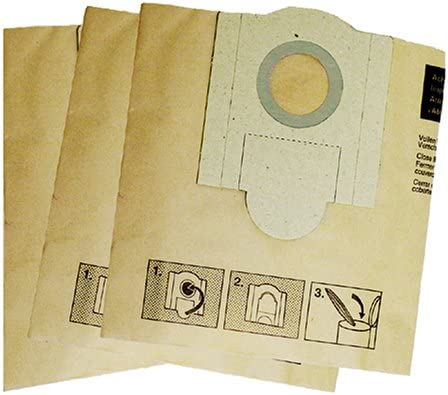 3-Pack Fein 913036K01 Vacuum Bags for 9-55-13 /& 9-55-13PE