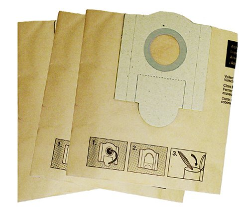 Fein 913036K01 Vacuum Bags for 9-55-13 & 9-55-13PE, 3-Pack ()