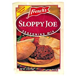 French\'s Sloppy Joe Seasoning Mix, 1.5-Ounce Packets (Pack of 24)