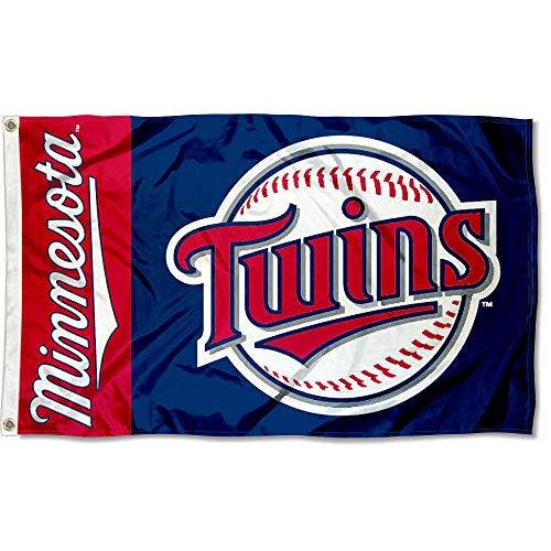 WinCraft Minnesota Twins Flag 3x5 MLB - Decorations Minnesota Twins